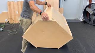 Cabinotch Assembly-Upper Diagonal Cabinet
