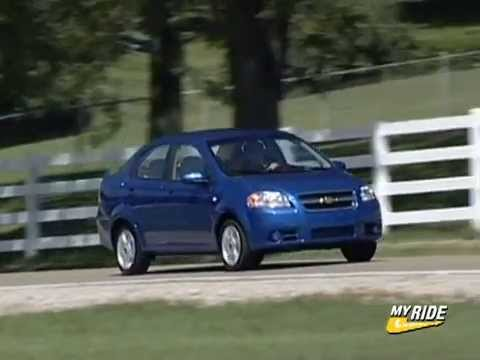 Review 2007 Chevrolet Aveo Lt Youtube