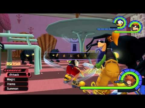Kingdom Hearts HD 1.5 How to get Fury Stones+Lucid Shards (Shadow+Gigas Shadow)