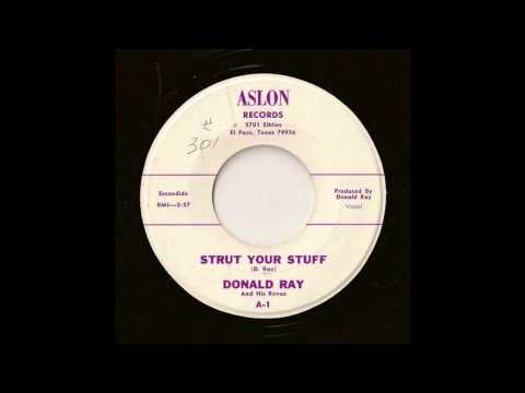 Donald Ray & His Revue - Strut Your Stuff