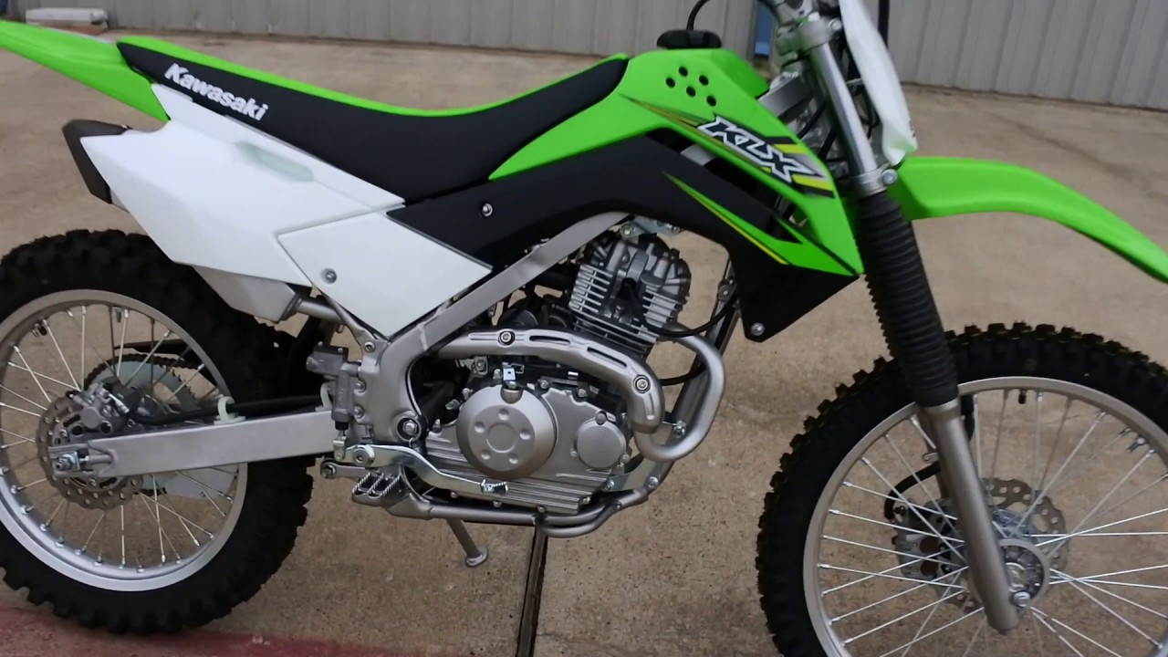 3 699 2017 Kawasaki Klx140 G Overview And Review