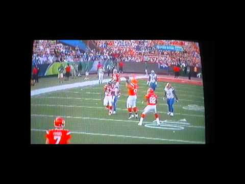 Pro Bowl 2011 Alex Mack Lateral Play