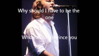 Throwing It All Away (with Lyrics)  - Genesis