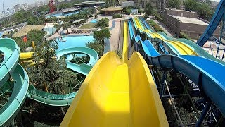 Yellow Cruiser Water Slide at Appu Ghar