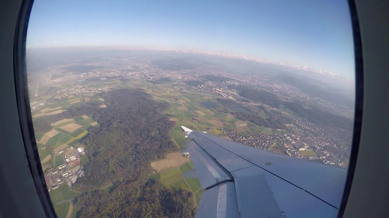 Flug Zürich-Graz-Zürich / LX1512 ZRH-GRZ / LX 1513 GRZ-ZRH ...