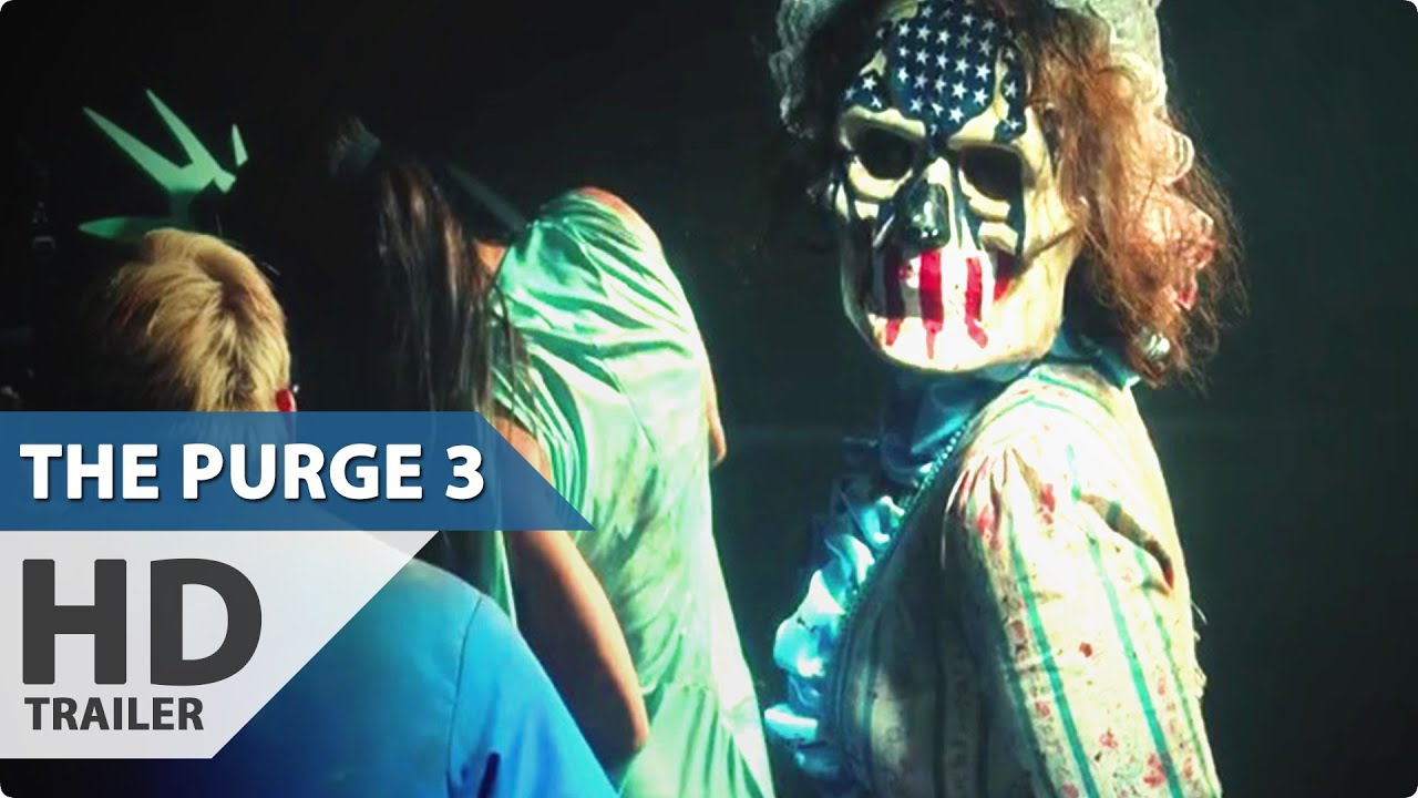6 The Purge Election Year Hd Wallpapers: The Purge 3 Election Year Trailer (2016) Elizabeth