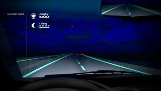 Glow In The Dark Roads TURN DRIVING INTO TRON