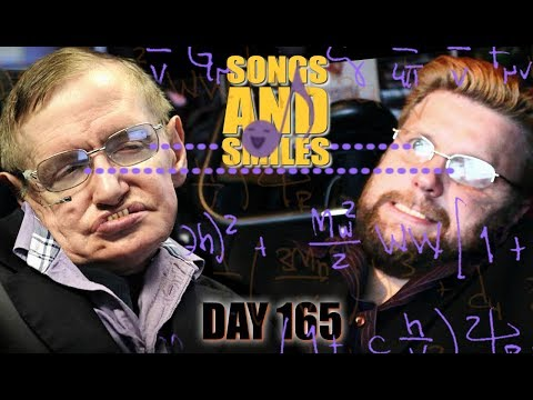 Stephen Hawking rocks Karaoke! - Don't Speak (Day 165 of 365)