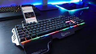 Крутая и недорогая игровая клавиатура - Aliexpress