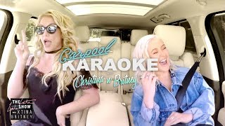 Christina Aguilera and Britney Spears Carpool Karaoke