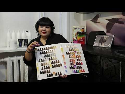 Презентация красителя для волос Intensis Color Art ТМ PROSALON PROFESSIONAL
