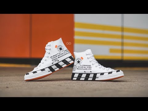 off white converse unboxing