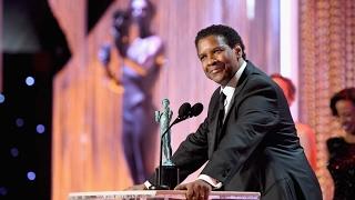 Denzel Washington Speech at Screen Actors Guild SAG Awards 2017 Video