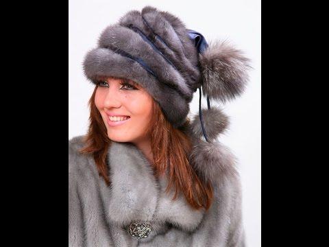 Женские меховые шапки - зима - 2019 / Women's Fur Hats