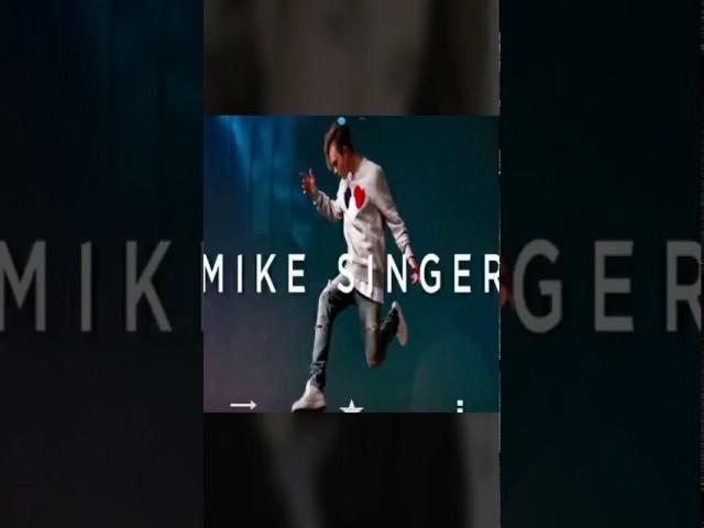 Mike singer???????????????????? sweet