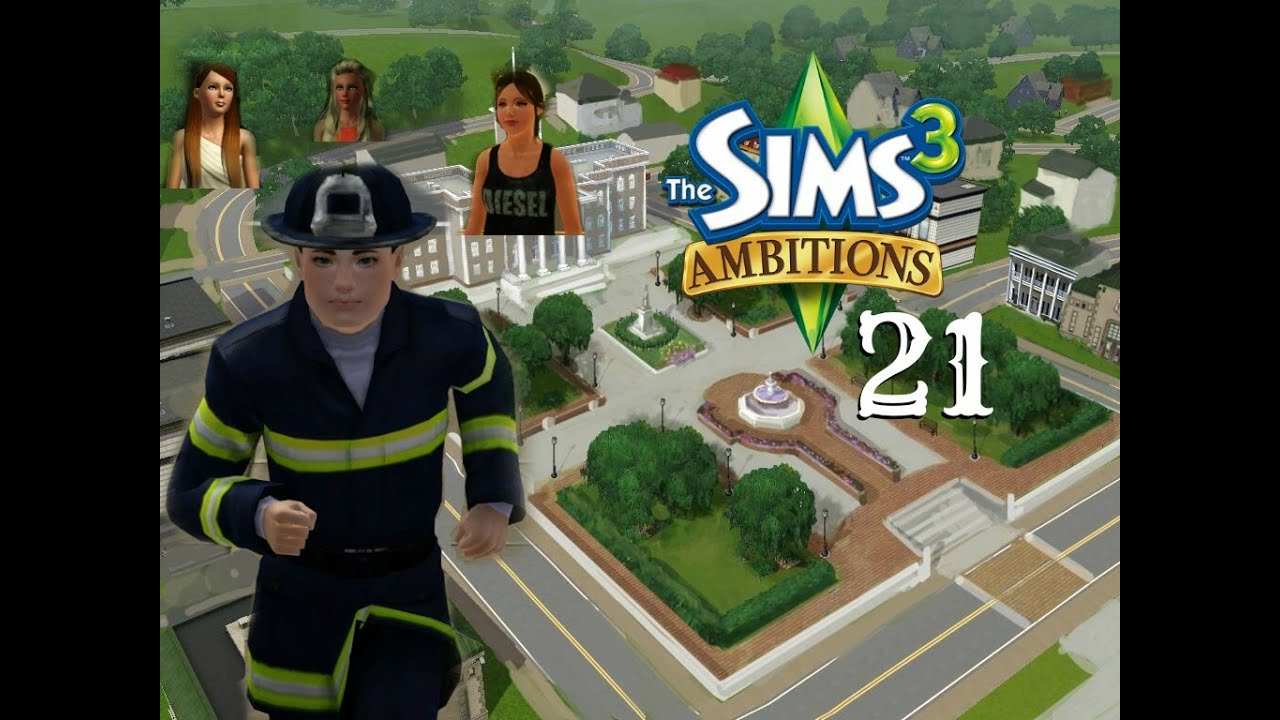 The Sims 3 Ambitions pt 21 Playing the Doctor career - YouTube