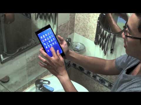 Tinhte.vn - Thử nghiệm khả năng chống nước của Sony Xperia Z Ultra
