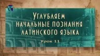 Латинский язык. Урок 2.11. Латинские пословицы