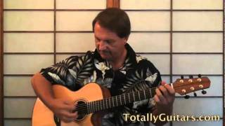 Take Me Home, Country Roads - John Denver Free Guitar Lesson