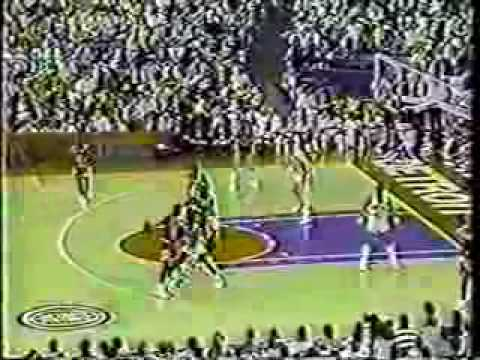 Michael Jordan 1988: 59pts Vs. Detroit Pistons on CBS