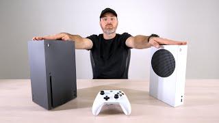 Xbox Series X aฑd Xbox Series S Model Unboxing