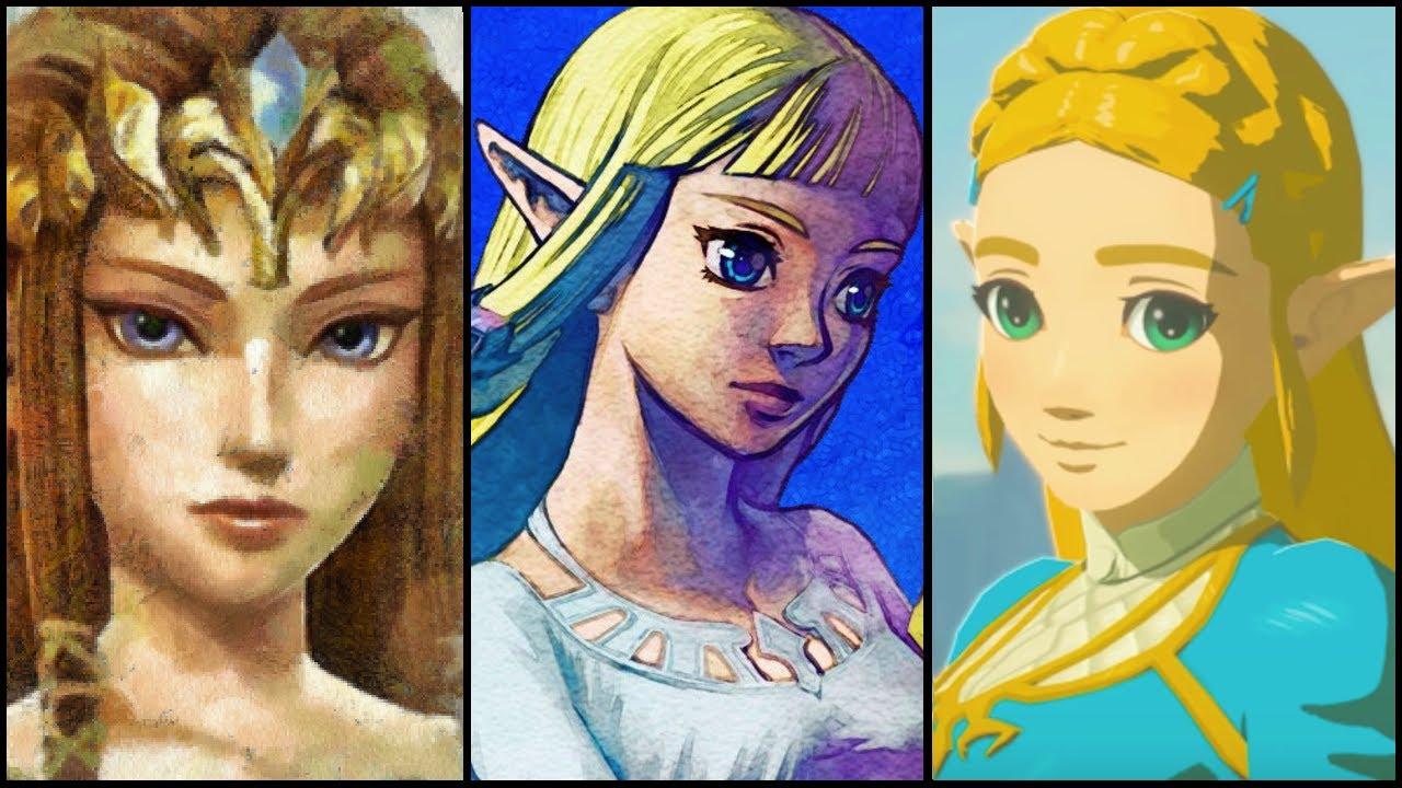 The Evolution Of Princess Zelda 1986 2017