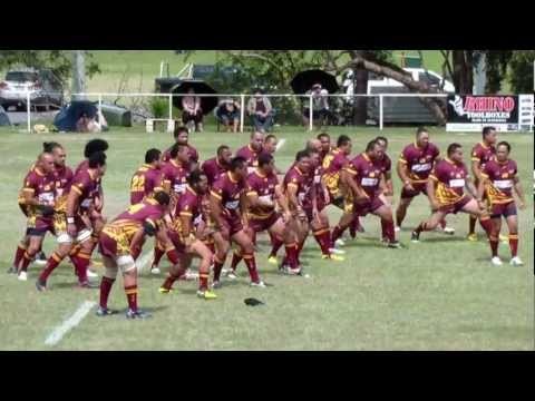 Niue Brisbane Bilbies (Doing the Takalo/Haka) Vs Auckland Babas!!! 24 Nov 2012
