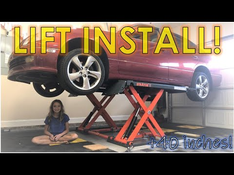 Unboxing and Setting Up My First Stratus Mid Rise Lift! (PART 1)