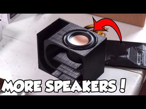 MORE Speakers & Amps? (Parts Express Unboxing)