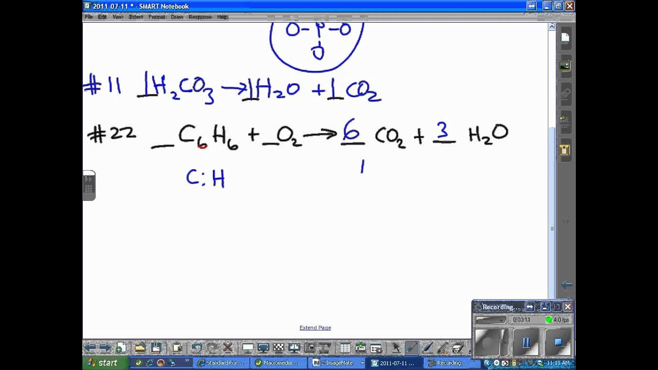 how to solve balancing equations