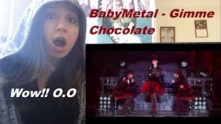 Babymetal- gimme Chocolate!! _ REACTION