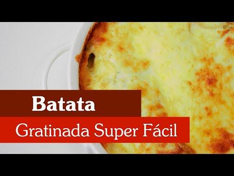 BATATA GRATINADA SUPER FÁCIL!