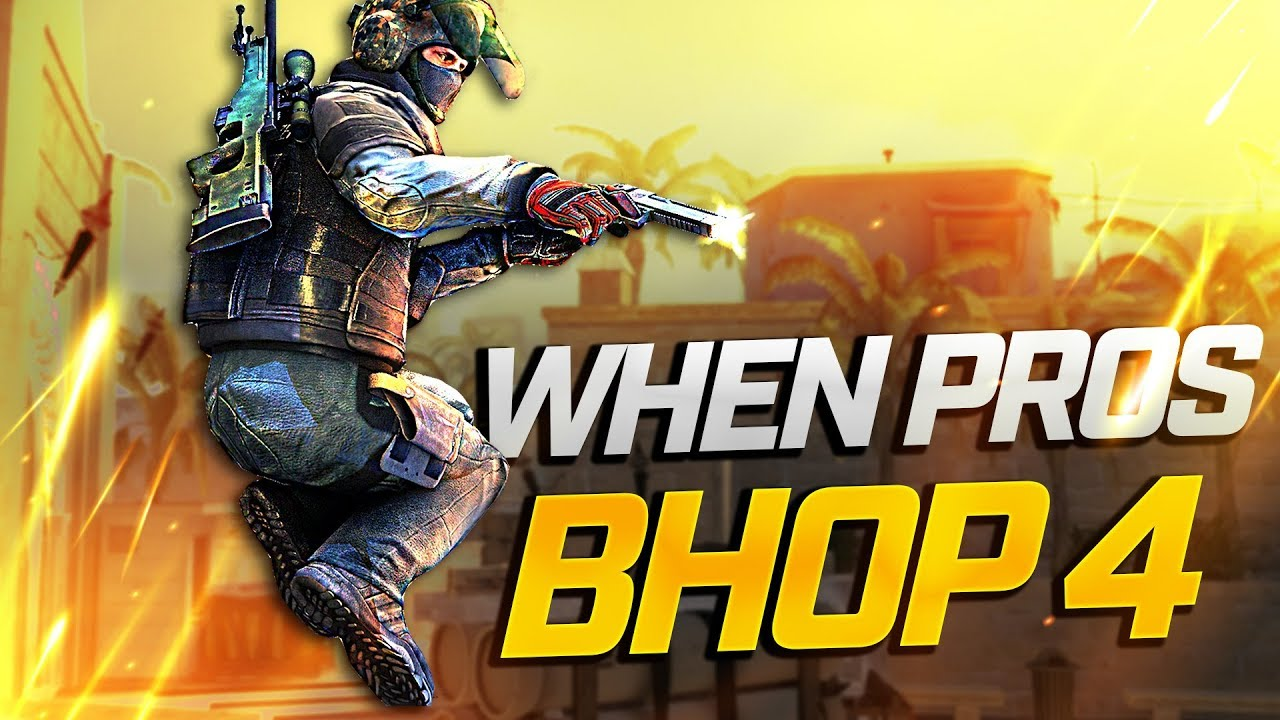 When PROS BHOP in CS:GO 4