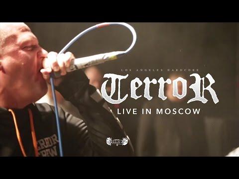 TERROR - LIVE @ VOLTA (Moscow, RU) FULL SET HD   Multicam