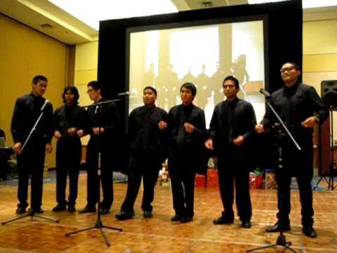 APOpella performs @ APOGLA December Affair 2009