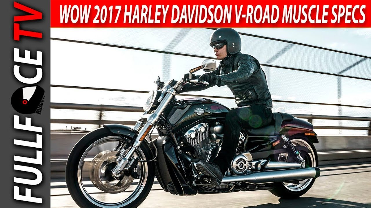 2017 Harley Davidson V Rod Muscle Top Speed and Review - YouTube