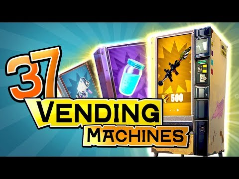 Finding All VENDING MACHINE Locations In Fortnite (Mythic & Legendary Spawns / New Vending Machines)