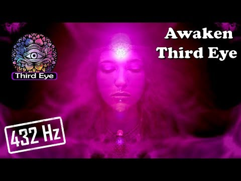 """""""Awaken Your THIRD EYE - Heaven Is In Your Mind"""" (432 Hz Stimulation/Meditation)"""