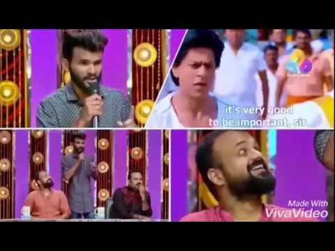 Spot dubbing Shahrukh Khan Chennai express...