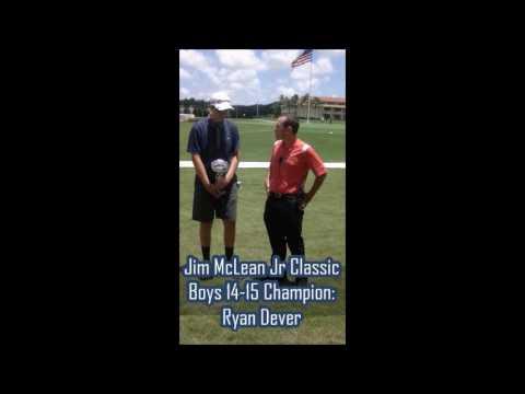 Jim McLean Jr Classic Champion Interviews