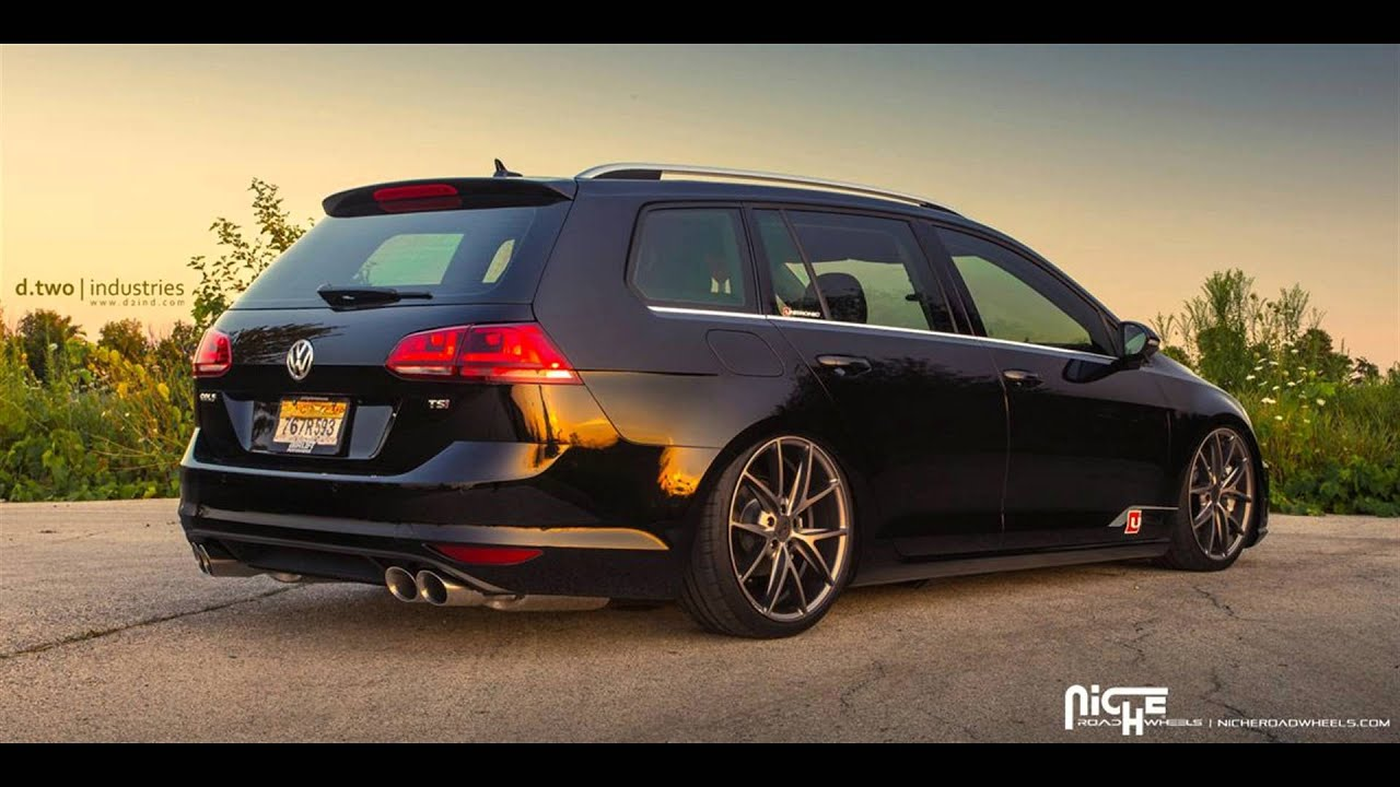 Dia Show Tuning 19 Zoll Niche Road Wheels VW Golf R Variant MK7 - YouTube