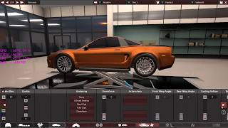 4 Cylinder Supercar in Automation.