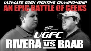 UGFC #1 - Rivera Vs Bubba Comic Book Trivia Challenge (Heroes Haven) Video