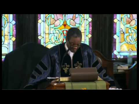 AME Emanuel Church FULL SERMON. Charleston Church First Sunday Service Since Shooting