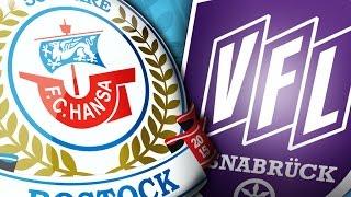 Interviews nach dem Heimspiel gegen den VfL Osnabrück