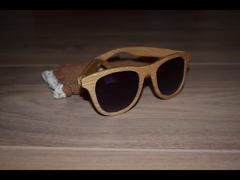 Handcrafted sunglasses