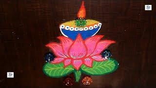 Kolam For Diwali Rangoli    maitrin 2018