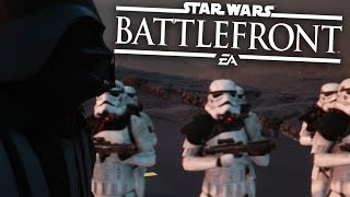 Star Wars Battlefront Gameplay Walkthrough - SINGLE PLAYER/TRAINING - PS4 60fps 1080p
