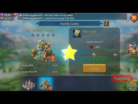 Lords-Mobile | UPGRADING MY CASTLE SKIN 50% Chance Of Win 50% Chance Of Fail!!!