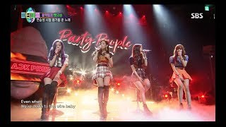 Download lagu BLACKPINK SURE THING COVER 0812 SBS PARTY PEOPLE
